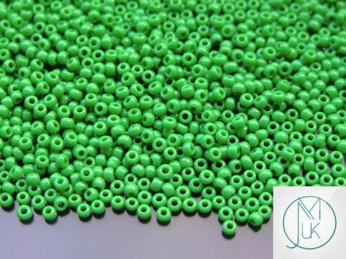 10g 47D Opaque Shamrock Toho Seed Beads 11/0 2.2mm-TOHO Glass Beads-Michael's UK Jewellery