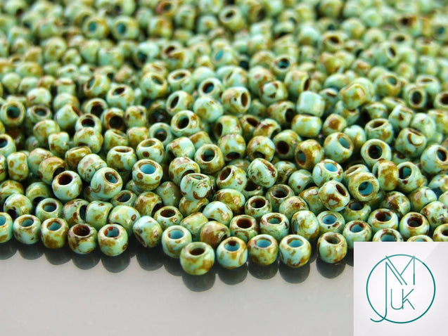10g Y309 HYBRID Picasso Opaque Sunflower Toho Seed Beads 6/0 4mm-TOHO Glass Beads-Michael's UK Jewellery