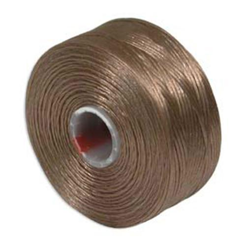 S Lon Beading Thread Size AA Light Copper-Beading Thread-Michael's UK Jewellery