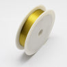 Iron Wire Gold 0.5mm approx. 7m/roll-Beading Wire-Michael's UK Jewellery