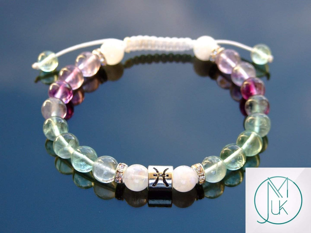 jewellery aquamarine for gold moss multistrand strand gemstone bracelet green unique adjustable filled bracelets women multi with designer blessing handcrafted irish collection