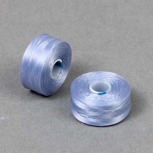 S Lon Beading Thread Size D Light Blue-Beading Thread-Michael's UK Jewellery