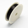 Iron Wire Black 0.3mm approx. 20m/roll-Beading Wire-Michael's UK Jewellery