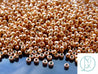 10g 551 Galvanized Rose Gold Toho Seed Beads Size 8/0 3mm-TOHO Glass Beads-Michael's UK Jewellery