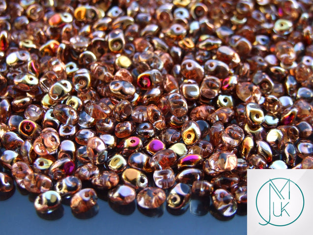 10g SuperUno Beads Crystal Sliperit-Matubo Glass Beads-Michael's UK Jewellery