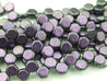30x Honeycomb Beads 6mm Motley Black Currant-Glass Beads-Michael's UK Jewellery