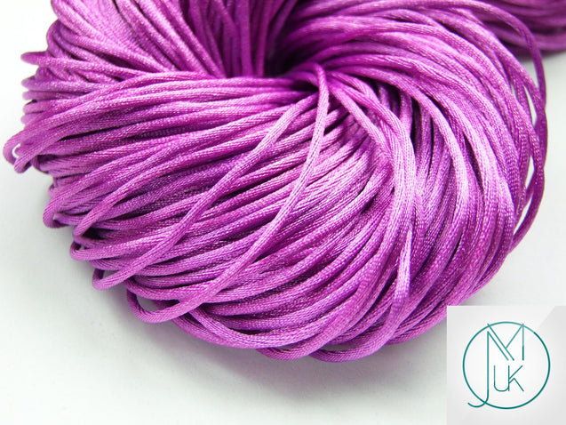Nylon Silk Cord for Teething Jewellery Making 18 Colors-Teething Jewellery-Michael's UK Jewellery