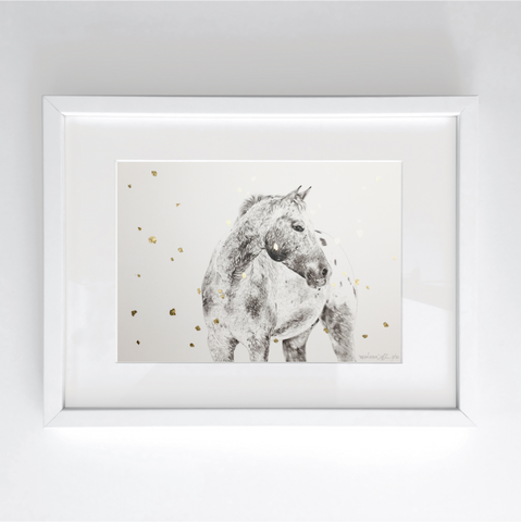 Appaloosa - Hand Embellished Limited Print