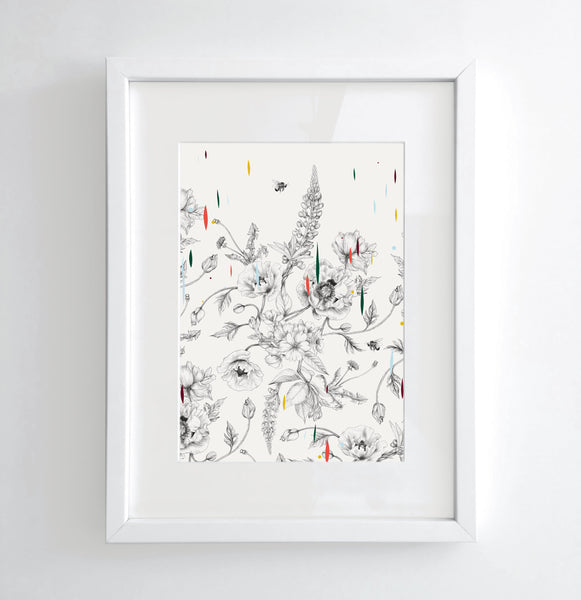 Multi-Flora - Limited edition print