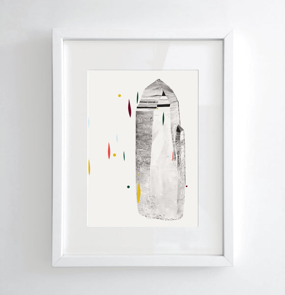Quartz - Limited edition print
