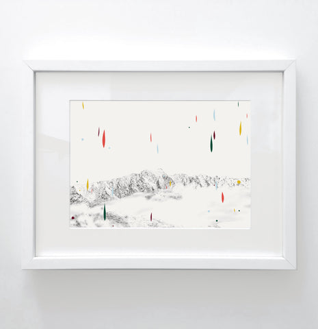 Remarkables - Limited edition print
