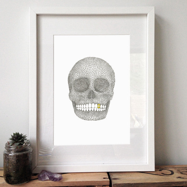 Skull II Limited Edition Print