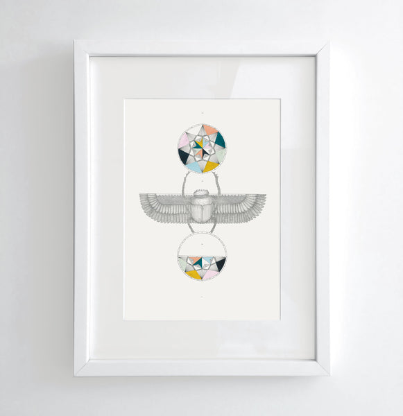 Scarab - Limited edition print