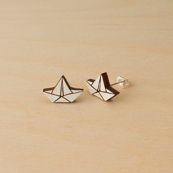 Little boats studs - Oolaladesign