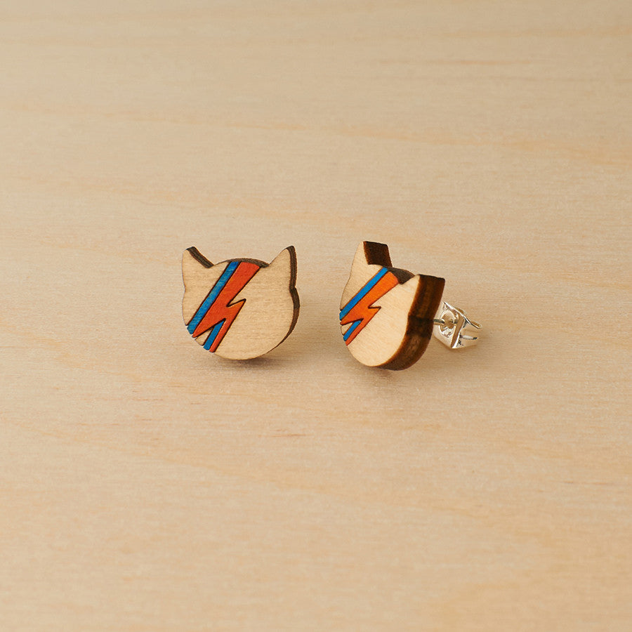 David Bowie Studs - Oolaladesign