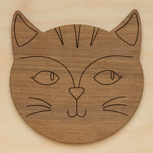 Cat coasters - Oolaladesign
