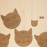 Claude cat necklace - Oolaladesign