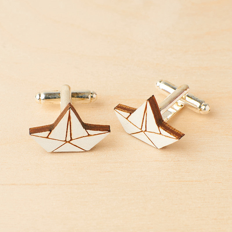Little Boats Cufflinks - Oolaladesign