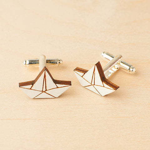 Little boats - Cufflinks