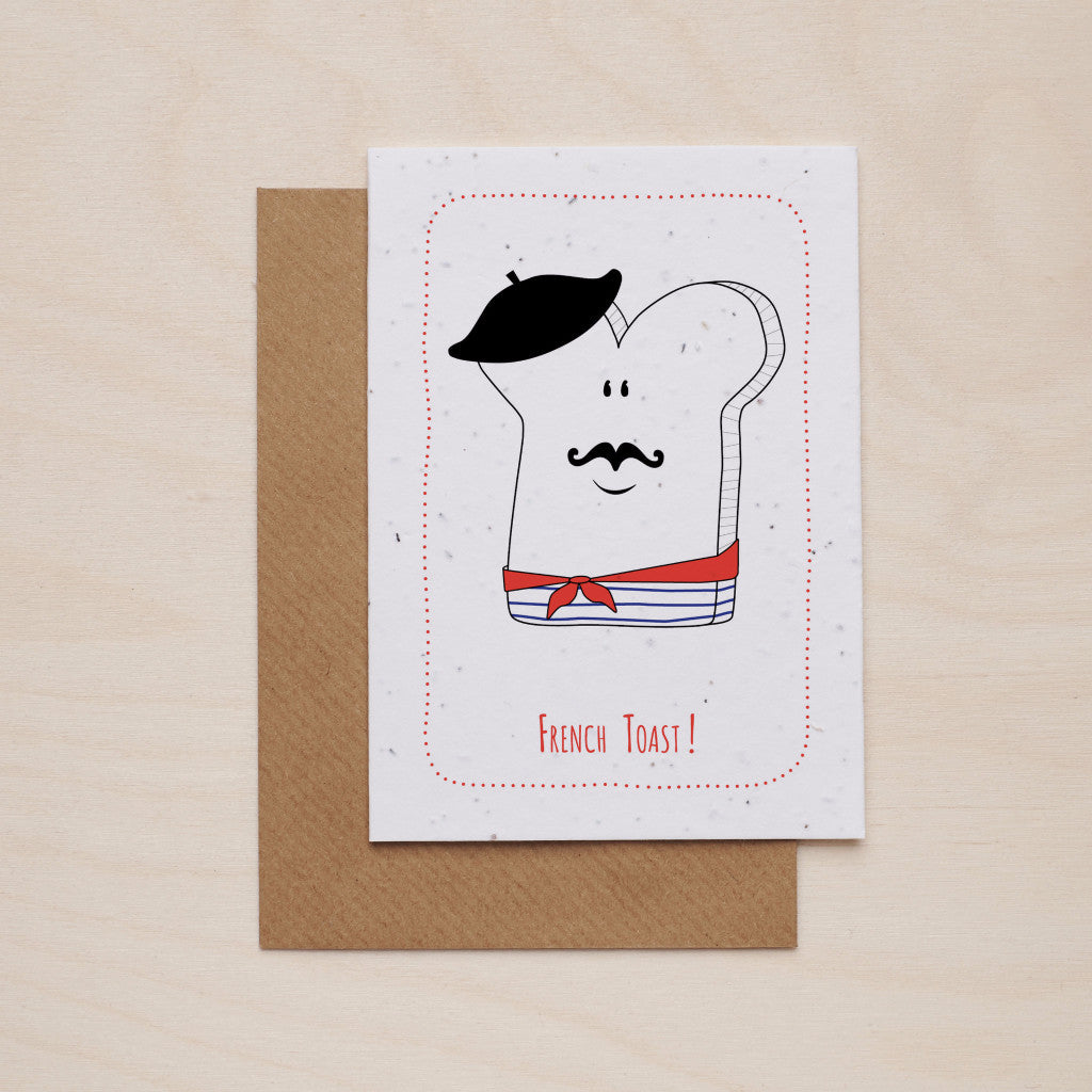 French toast - Seeded card - Oolaladesign