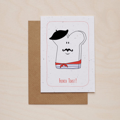 French toast - Seeded card