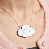 Happy cloud necklace - Oolaladesign