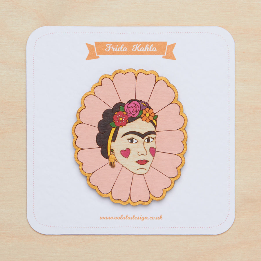 Frida Kahlo - Brooch