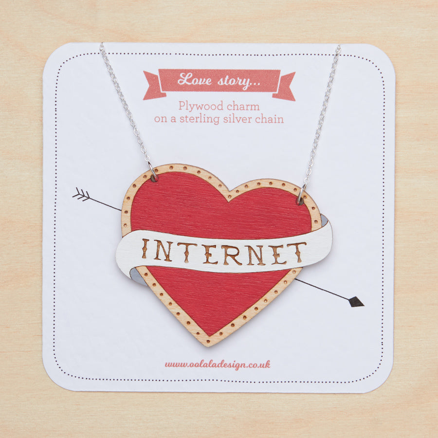 I love internet - Necklace