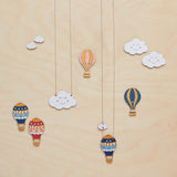 Hot air balloon necklace - Oolaladesign