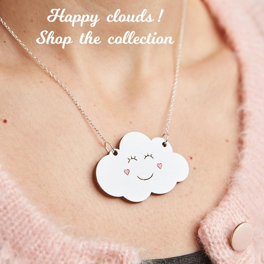 Up in the air, cloud jewellery
