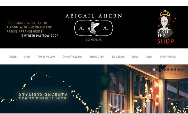 Top 10 UK Interior Blogs By Collectiecouk Abigail Ahern Design Hunter