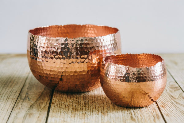 collectie.co.uk Copper Planters Large and Small from £17