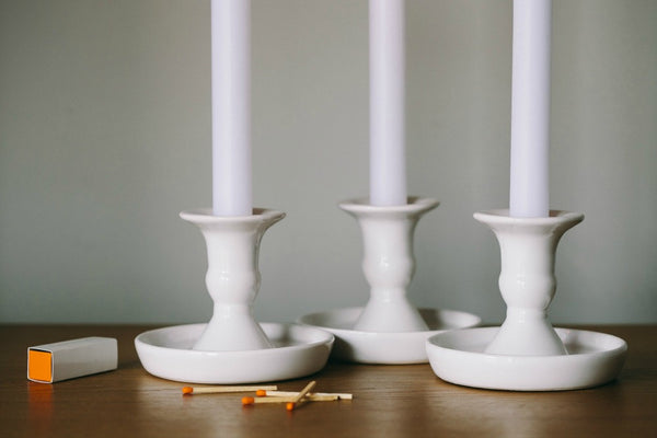 collectie.co.uk White porcelain candle holder nightlight