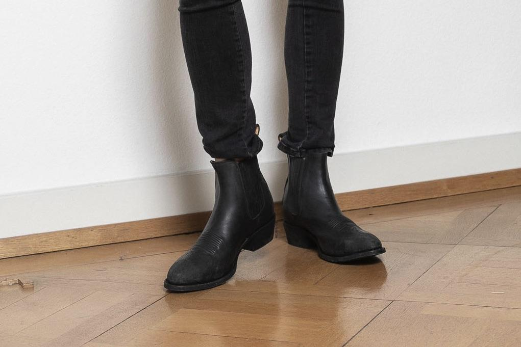"MEXICANA Boots ""Estudio Bis"" schwarz - used touch"