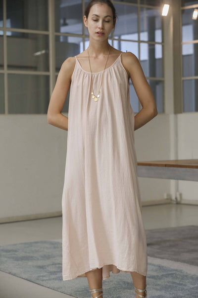 9seed - Tulum Cover up Dress -  dusty rose