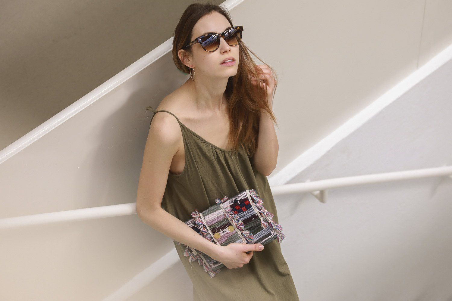 9seed - Tulum Cover- up Dress - army