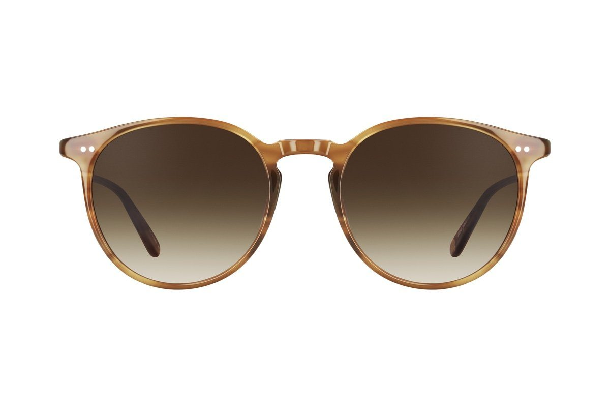 "GARRETT LEIGHT Sonnenbrille ""Morningside""  brown"