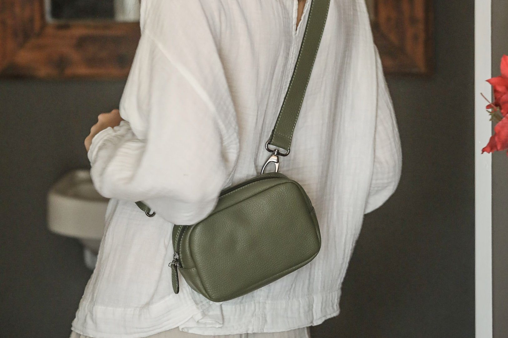 "Choice by Réjane Rosenberger ""Travel"" Crossbodybag army"