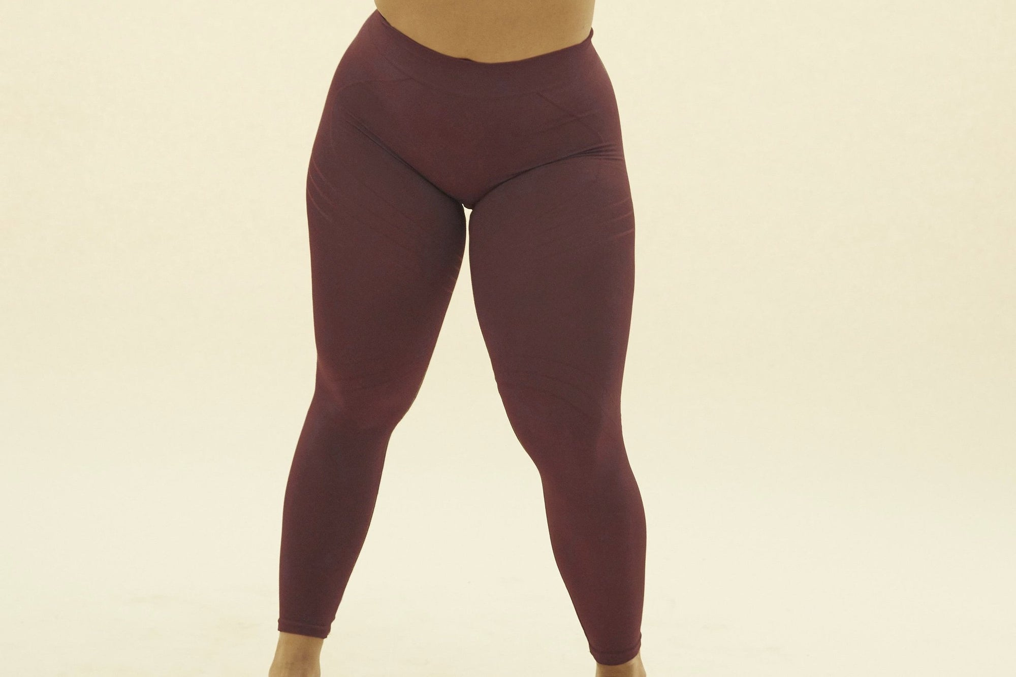 "PRISM ""Nuturing"" Leggings bordeaux"