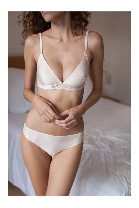 "NAELIE Lingerie ""Marianne"" Buttom light pouder"