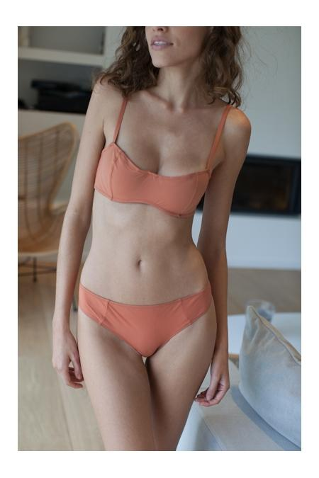 "NAELIE Lingerie ""Marianne"" Buttom copper"