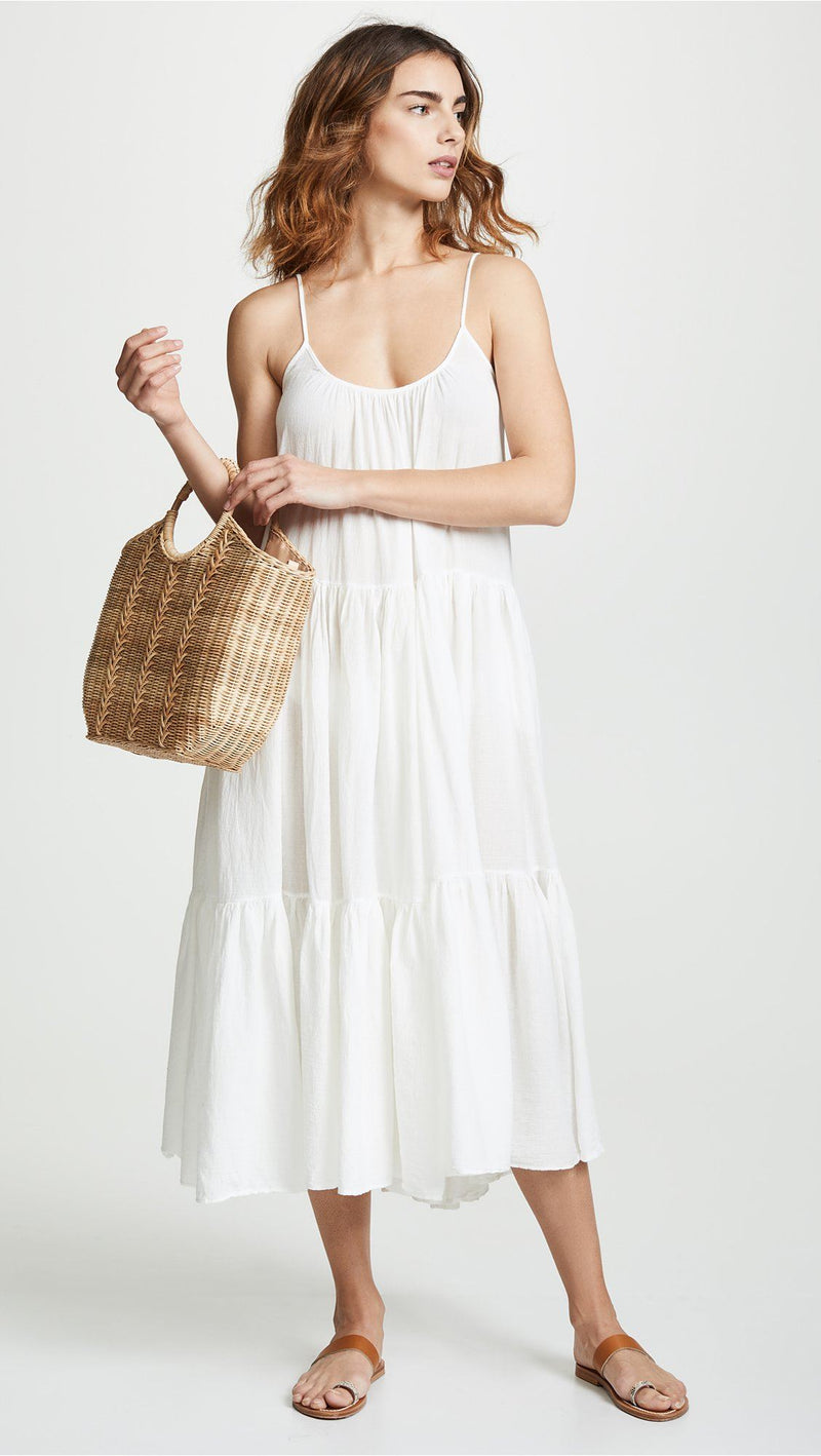 9seed - Condesa Dress weiss