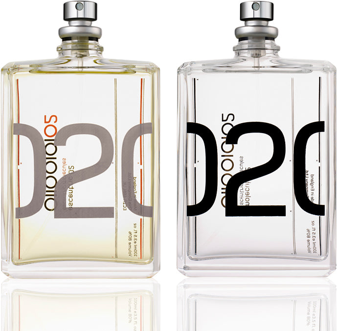3c8d91ff4b163 Escentric Molecules 02 celebrates the fresh and sensual resonance of  nature-identical Ambroxan in two different fragrances.