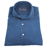 Camisa Denim New Royal Blue