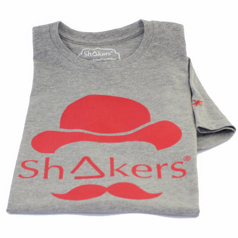 Camiseta Bowler Hat Grey