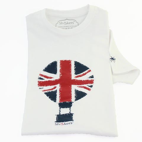 Camiseta England Balloon White