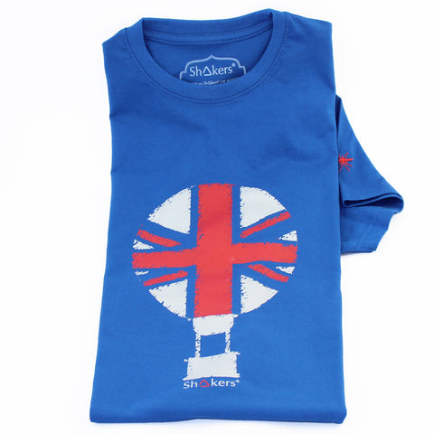 Camiseta England Balloon Blue