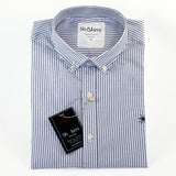 Camisa Stripes Oxford Skyblue