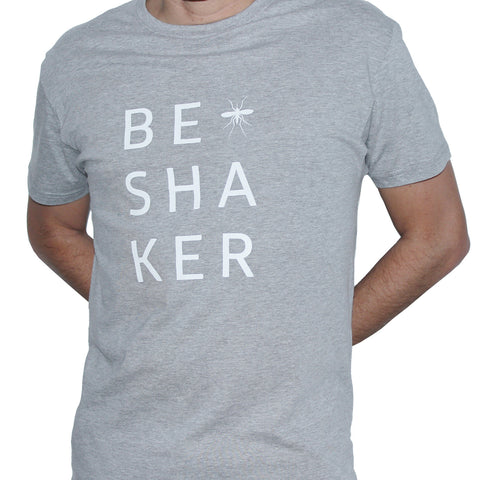 Camiseta #BeShaker Grey