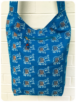 Hand Made Indian Elephant Large Cross Body Bag